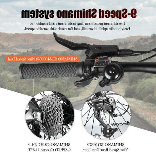 "27.5"" Tire Bike Bike 48V Mid Motor"