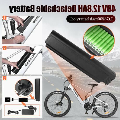 "27.5"" Electric Bike Treeking 48V Motor"