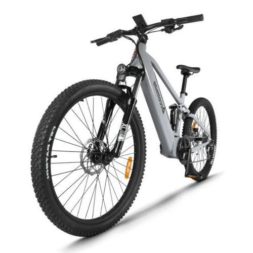 27 5 tire electric mountain bike treeking