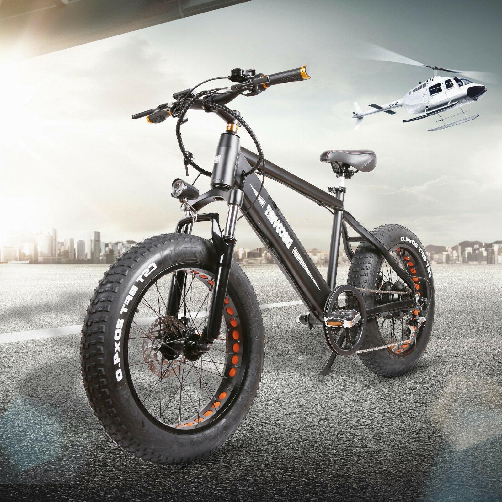 """NAKTO Bike 20"""" Fat Bikes"""