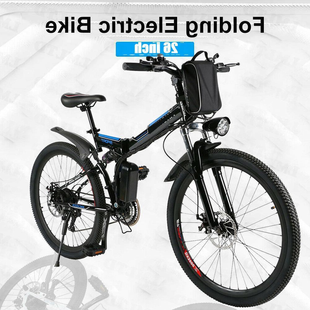 350/250W Electric Mountain Bicycle EBike 3 WORKING