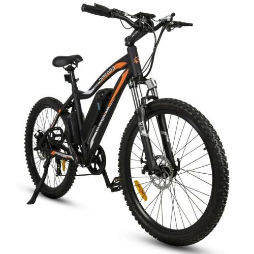 ECOTRIC City Bicycle Removable LCD