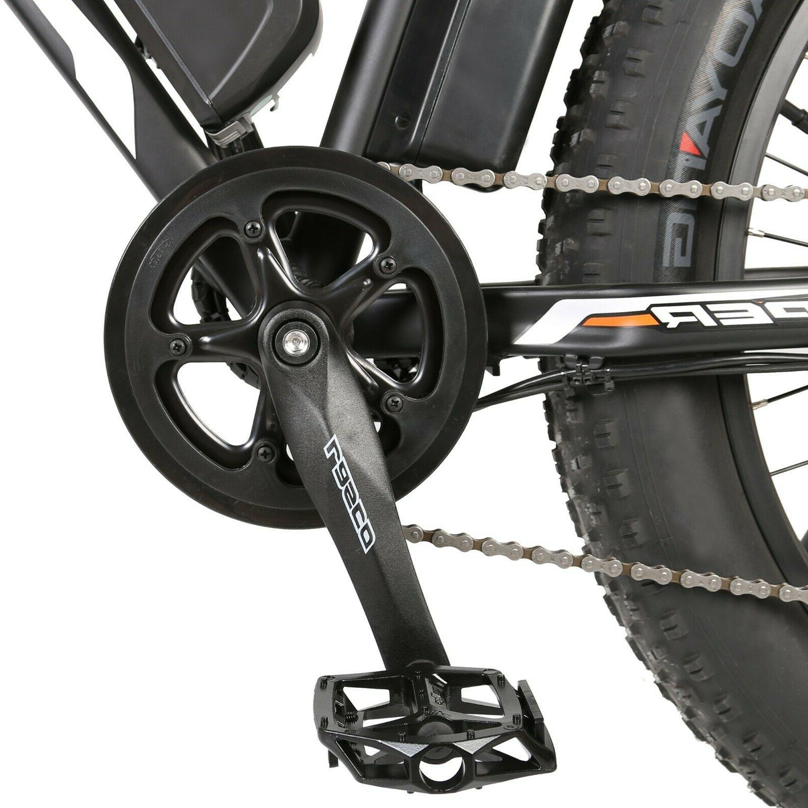 ECOTRIC 36V500W Mountain City eBike Pedal 7 Speed