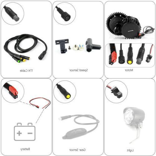 Bafang 52V 68MM BBS03 Drive Motor Electric Kit
