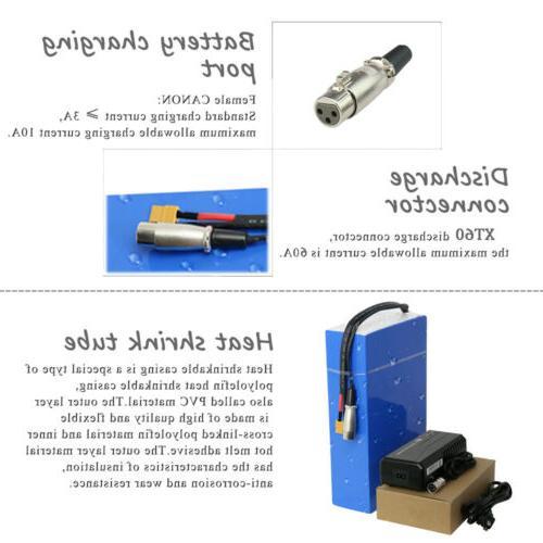 48V Li-ion Battery for E-bike Electric