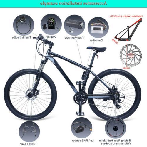 Bafang 48V Wheel Hub Motor Bike Conversion Kits