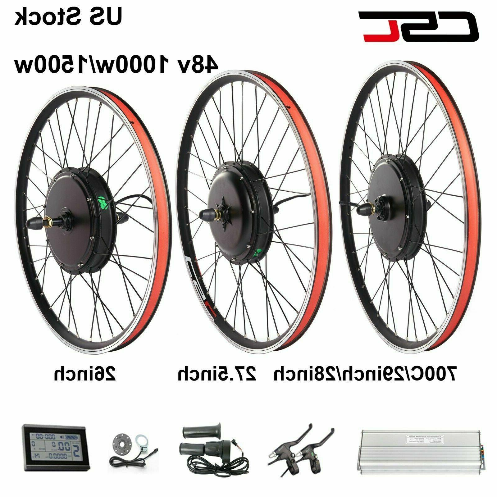 48v electric bicycle motor kit 1000w 26