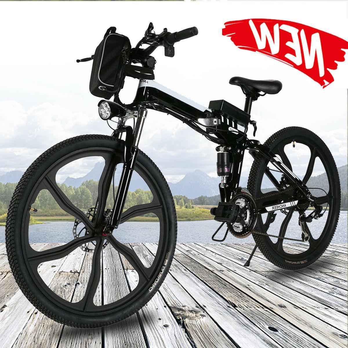 26 electric bike folding mountain bicycle e