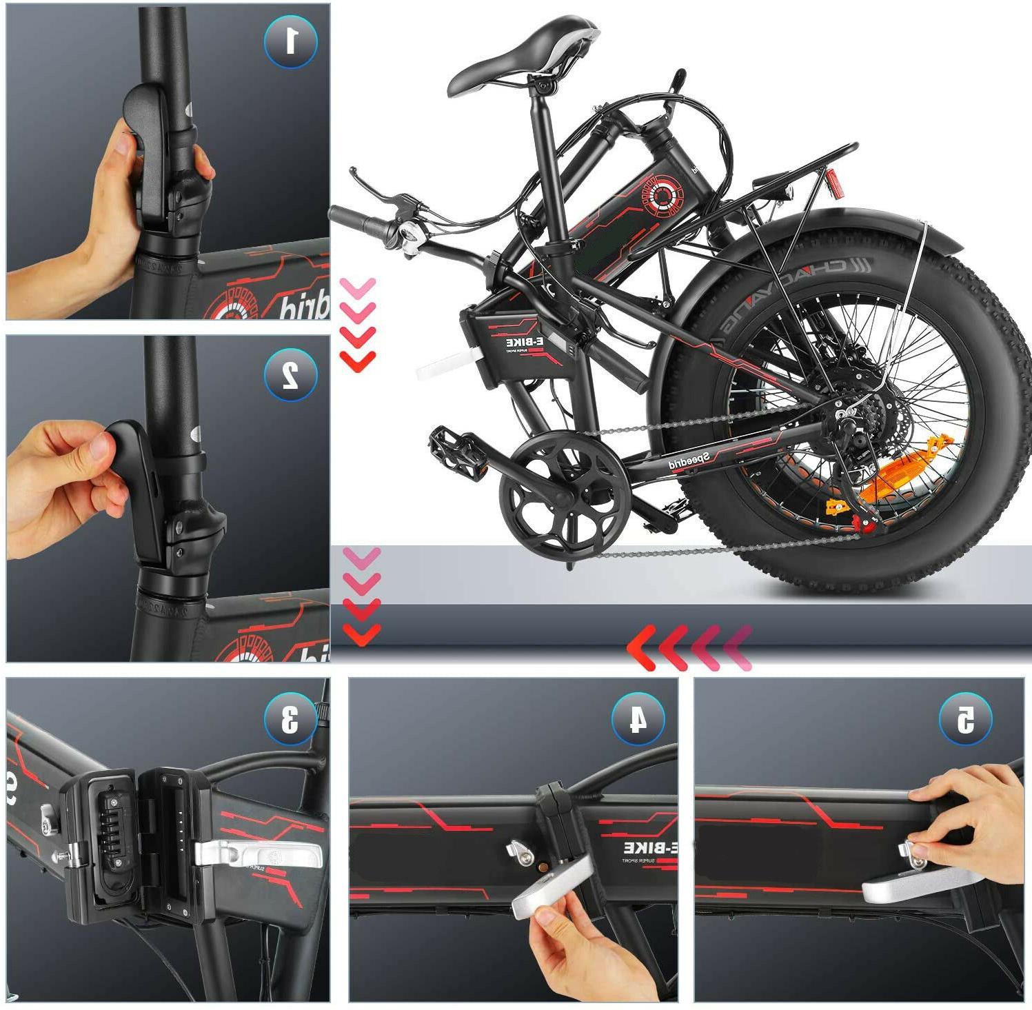 500W Folding Electric Bike