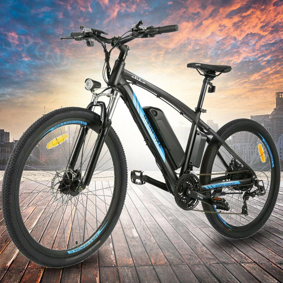 500W 26'' Electric Mountain Bicycle EBike Speed 48V Battery