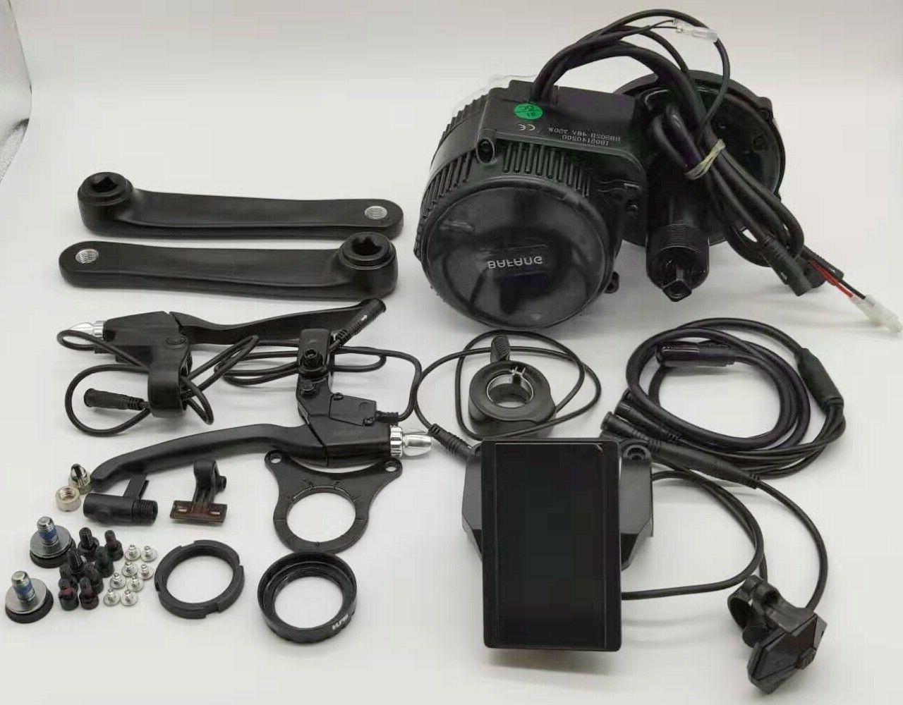 8fun 250W Mid Drive Motor Electric Bicycle Conversion Kit