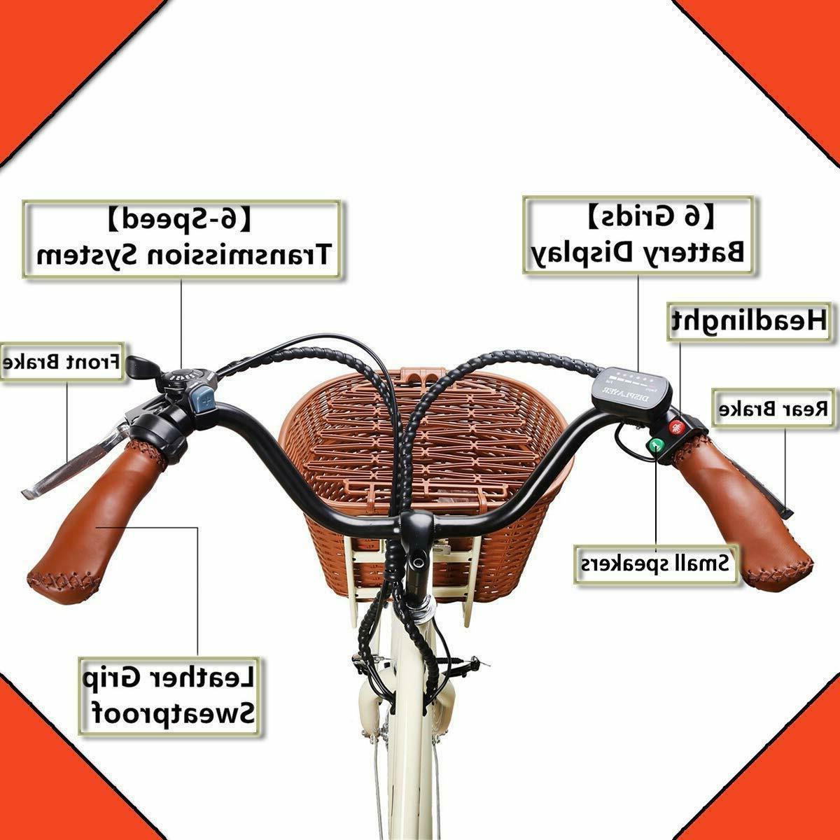 """26"""" Electric Bikes 250W 36V12Ah Ebikes"""