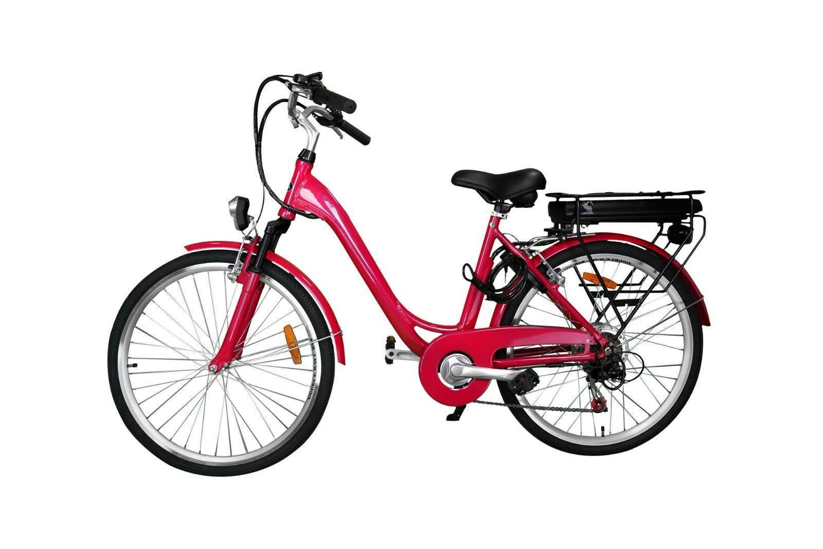 Brand New Metallic Pink 350W Bafang Motor