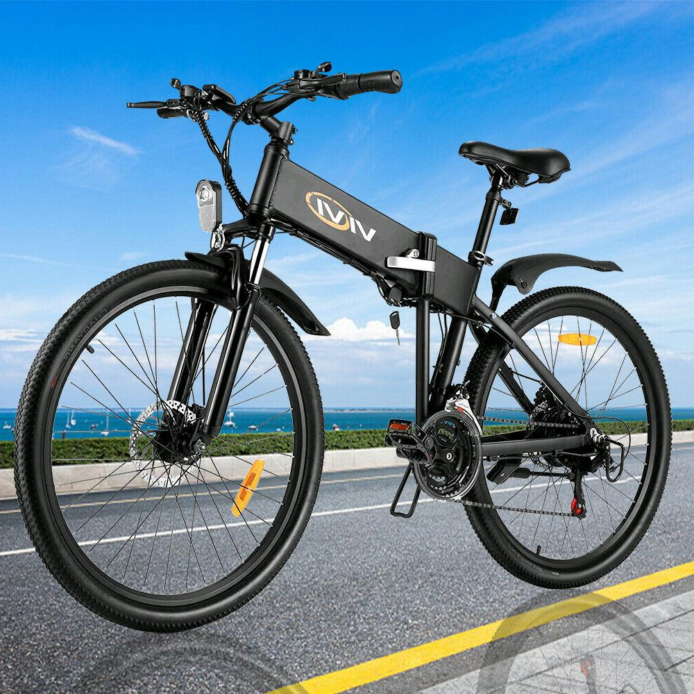🛴26'' Electric Bicycle Folding 21 Speed New Hot !