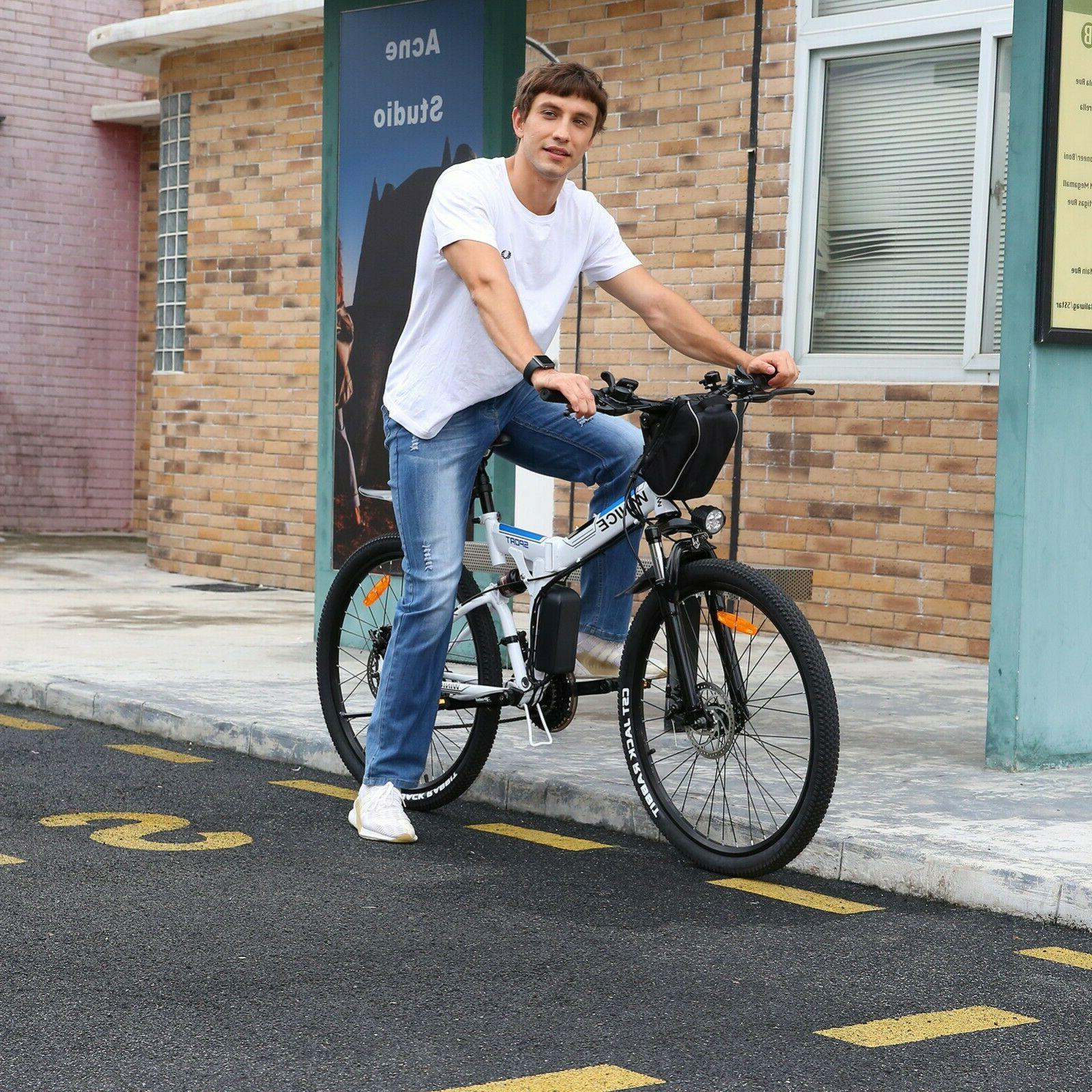 EBike Electric Bike Mountain Bicycle With
