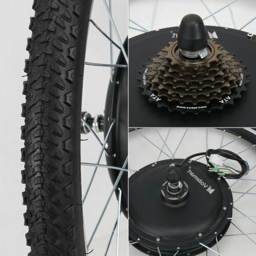 "26""1500W 48V Electric Bicycle Bike Motor Conversion Kit"