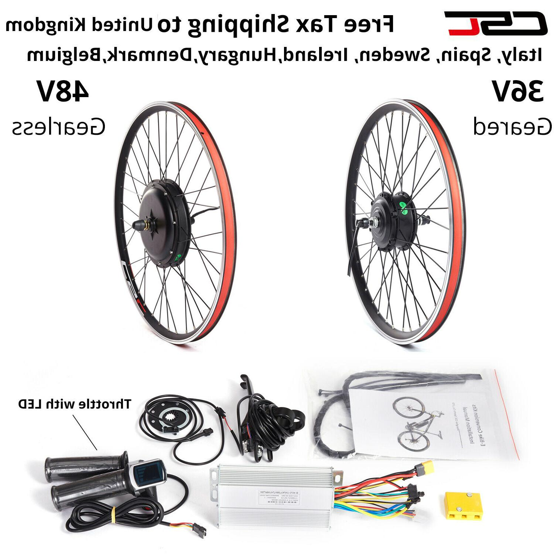 Electric Bike Wheel Kit 20-29 inch