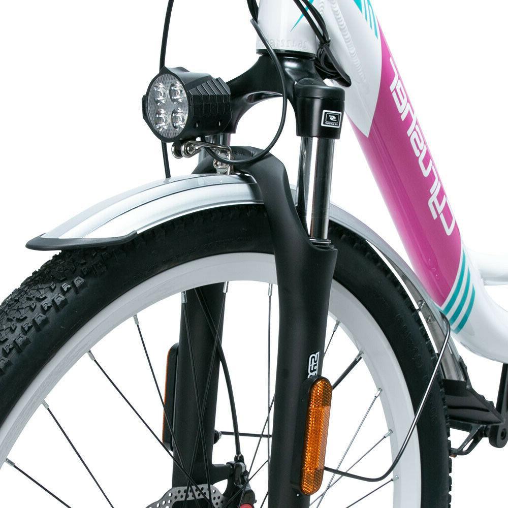 Cyrusher 500W 14AH 48V Electric Bicycle bike Lady