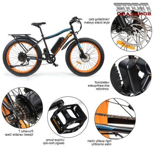 Electric Beach e-bike 36v New