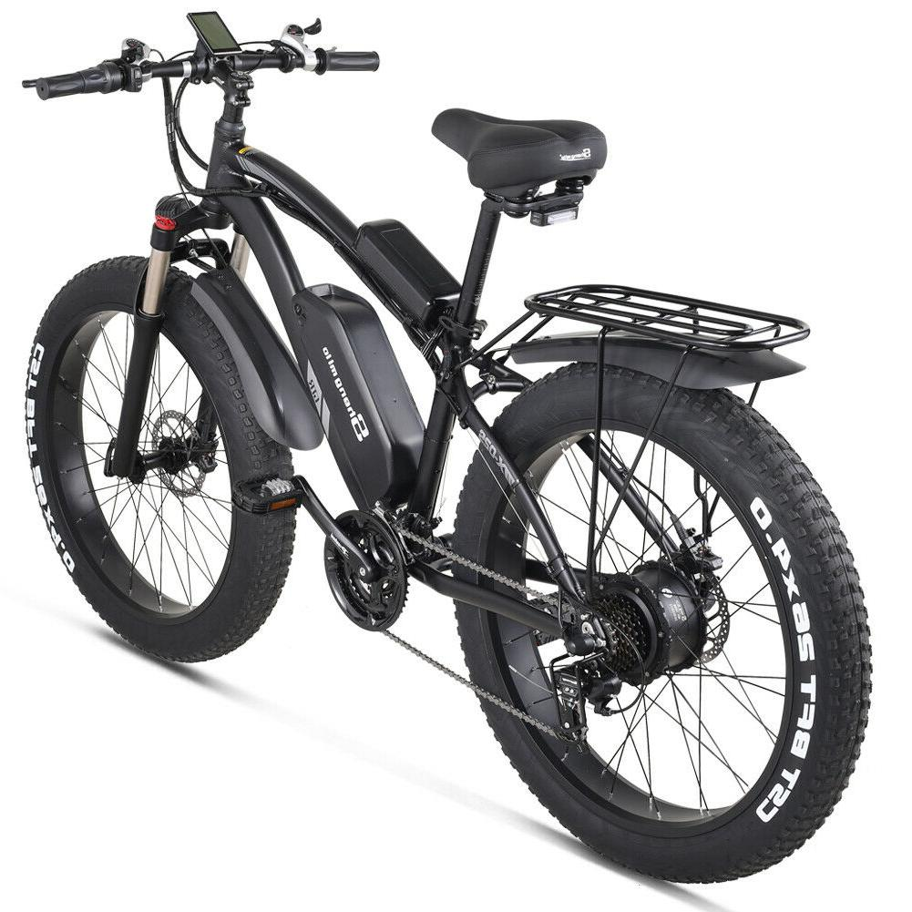 "Shengmilo Mountain 1000W 17Ah 26"" Fat Tire Speed For Adults"