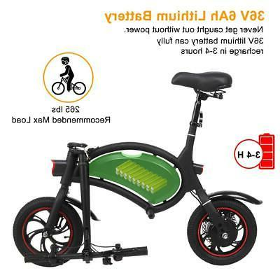 New Electric E-bike Folding Cycling 250W Commuter