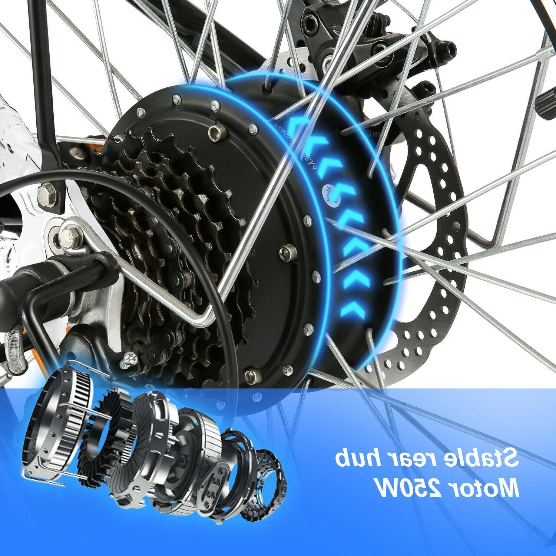 Folding Bike Ebike 20 Inch +36V 8Ah Removable