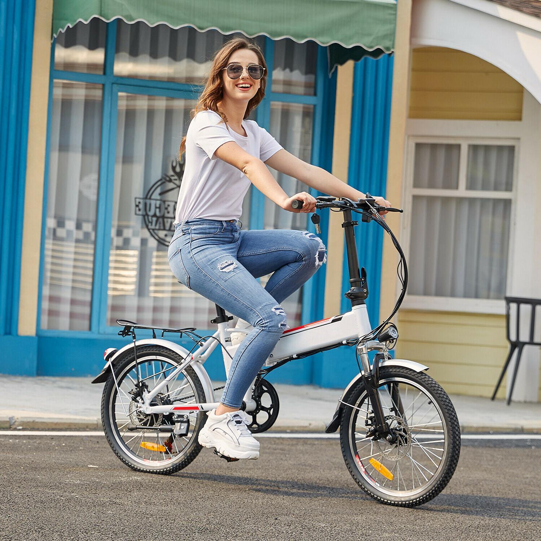 Folding Electric Bike Ebike 20 Inch Electric Bicycle +36V 8Ah