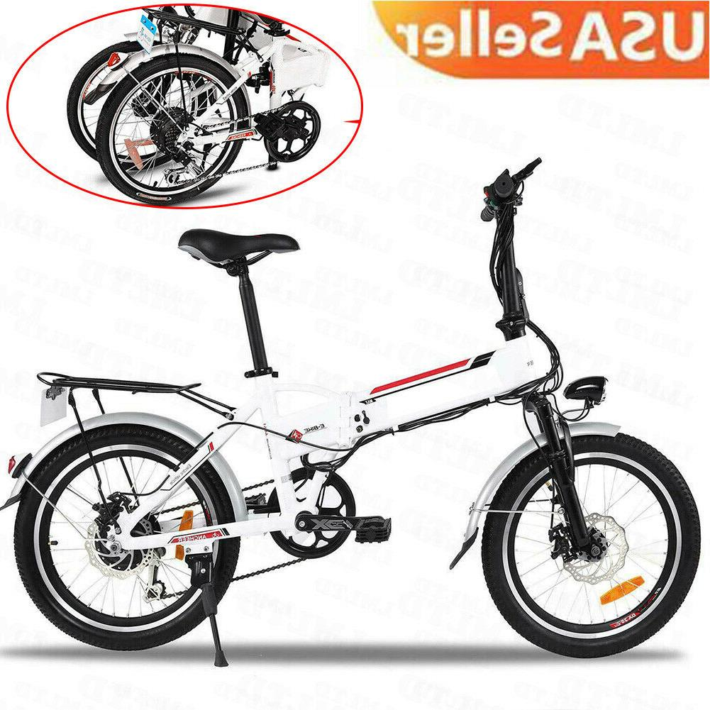 folding electric bike ebike 20 inch electric