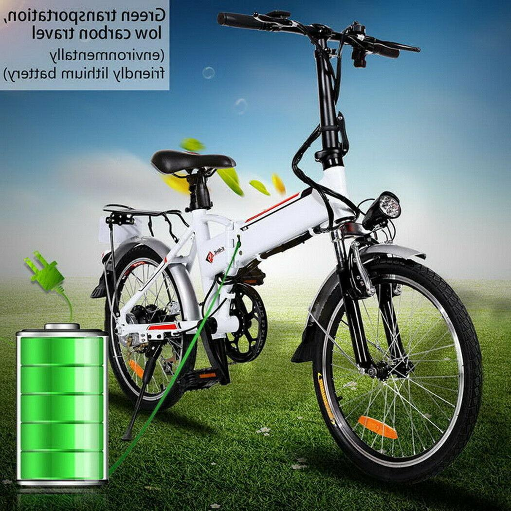 Folding 20Inch Electric Bicycle + 36V Ah Battery