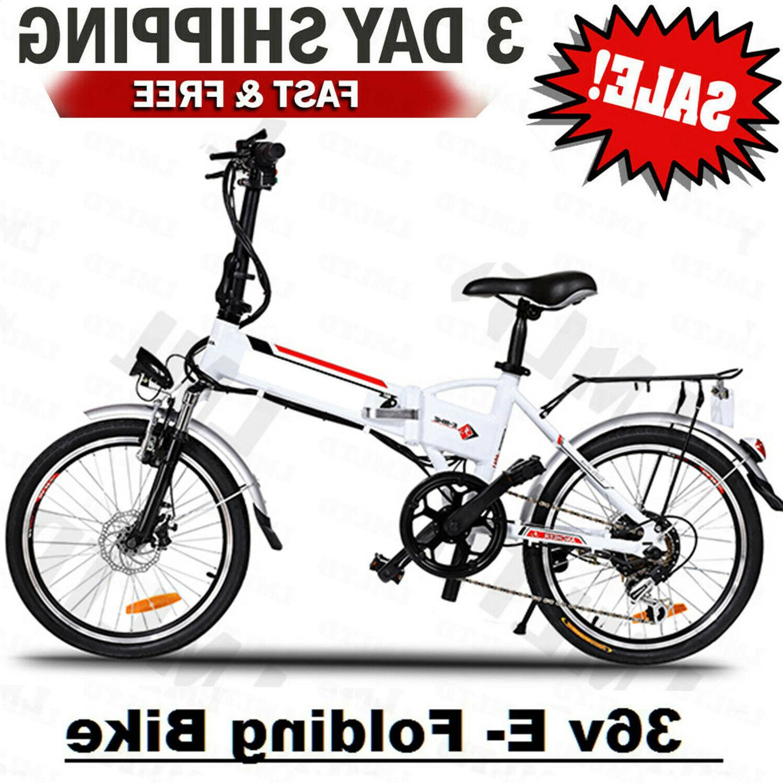 folding electric bike ebike 20inch electric bicycle