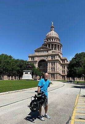 FOLDING ELECTRIC BIKES E-BIKE LIGHTWEIGHT EBIKE BICYCLE ELECTRIC BIKE BAG!