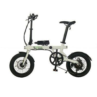 FOLDING ELECTRIC E-BIKE LIGHTWEIGHT EBIKE BICYCLE FREE ELECTRIC