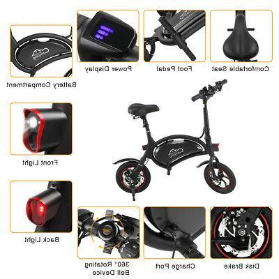 IP65 12'' Electric Folding E-bike City 250W