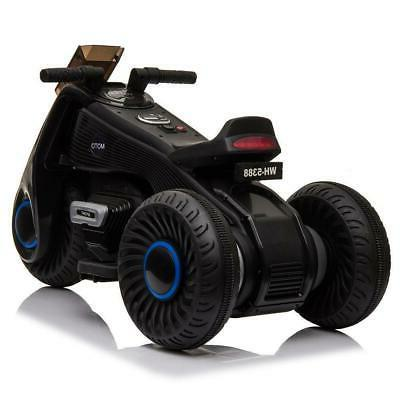 Kids 3 Wheel Electric Motorcycle Car 6V Battery Tricycle