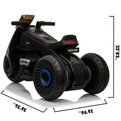 Kids Wheel Motorcycle 6V Bike Battery Power Ride Tricycle Toy