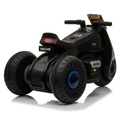 Kids Wheel Electric Motorcycle Car Bike Battery Power On Tricycle Toy