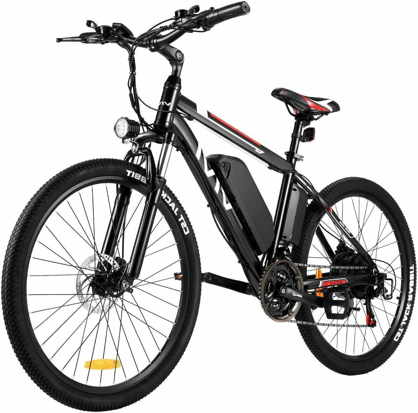 "500W 26"" Electric Mountain Bicycle 21Speed Bike Shimano 48V"