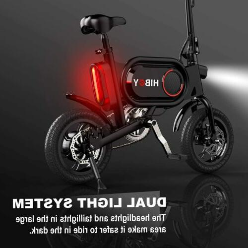 Hiboy P10 Folding Bike for Adults Assist, Lithium Battery