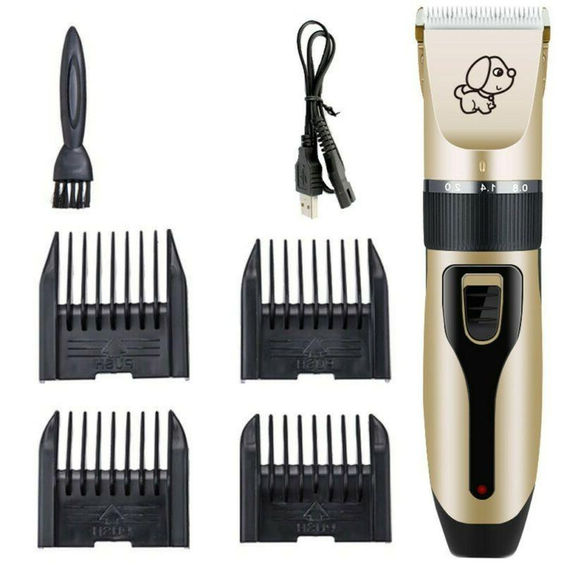 Pet Dog Grooming Clippers Cat Set