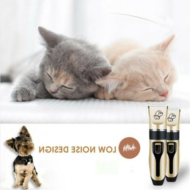 Pet Dog Clippers Cat Set
