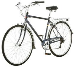Schwinn Men's Wayfarer Hybrid Bike, Blue