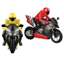 Mini 1:6 RC Motorcycles Kids Toy Gifts 2.4Ghz Car Vehicles w