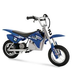 Razor MX350 Dirt Rocket Electric Dirt Bike - Blue,  New, Box
