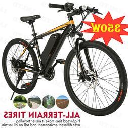 ANCHEER 350W Electric Bike Adult Electric Mountain Bike 36V