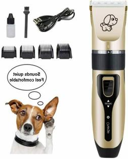 Pet Professional Dog Grooming Clippers Kit For Dog Cat Hair