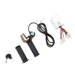 Throttle Grip Kit Brush Speed Motor Controller Electric Bike