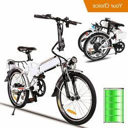 Folding Electric Bike Ebike 20Inch Electric Bicycle + 36V 8